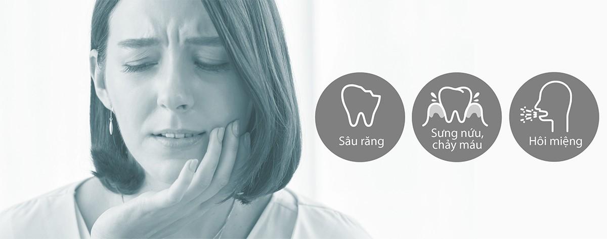 Chải răng không hiệu quả dẫn đến nhiều vấn đề khác nhau.