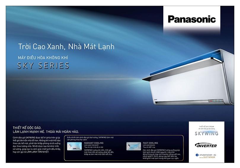 Điều hòa không khí thế hệ mới SKY Series của Panasonic cất cánh cùng Vietjet