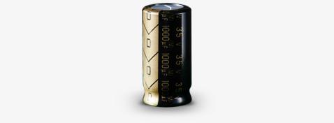 Elektrolytické kondenzátory z nejkvalitnějšího hliníku