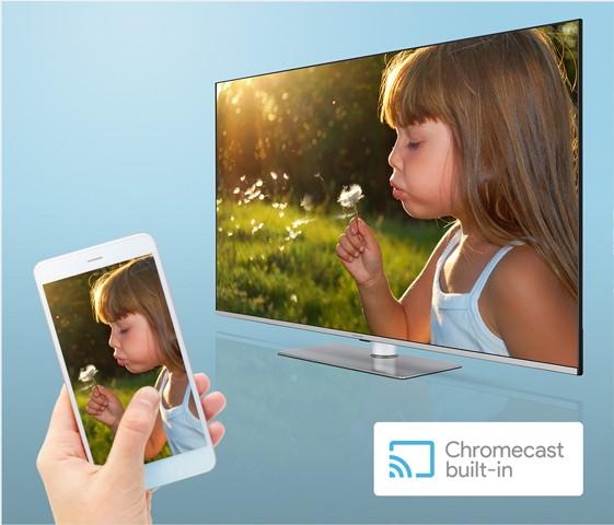 Integrovaný Chromecast
