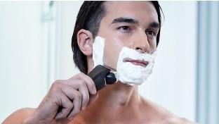 Výsuvný zastřihovač / pohodlí při holení za mokra a nasucho / omyvatelný