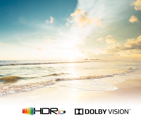 Unterstützt alle wichtigen HDR Standards