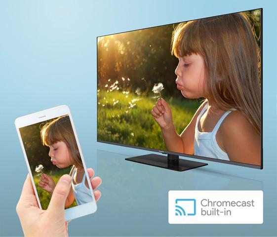 Chromecast integrado