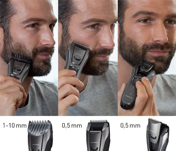 Tetszés szerinti szakállformázás