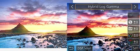 Hybrid Log Gamma for 4K HDR Video