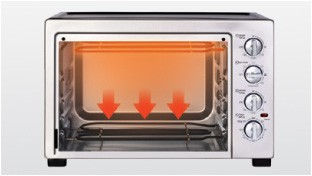 Independent Temperature Control for Upper Heating