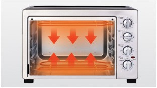 Upper & Lower Heating, Double Temperature Control