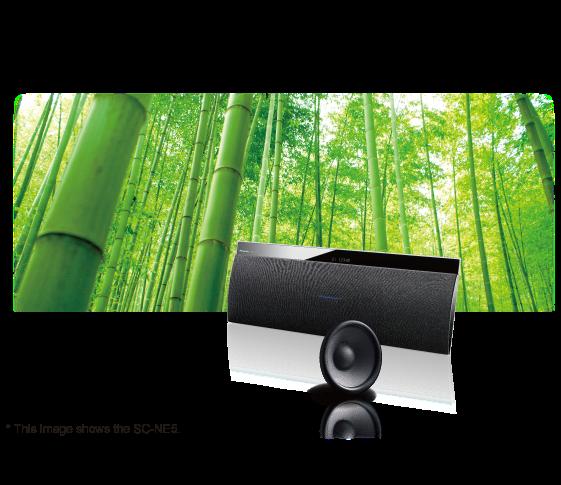 Nanosized Bamboo Cone Speaker