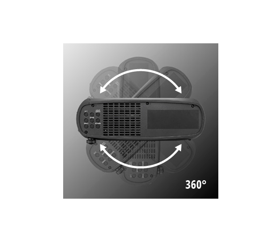 Instalación Flexible de 360 grados