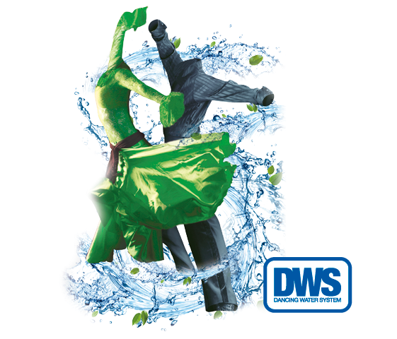 Sistema Exclusivo DANCING WATER SYSTEM