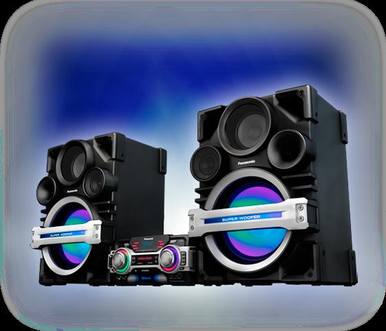 Gran potencia de sonido