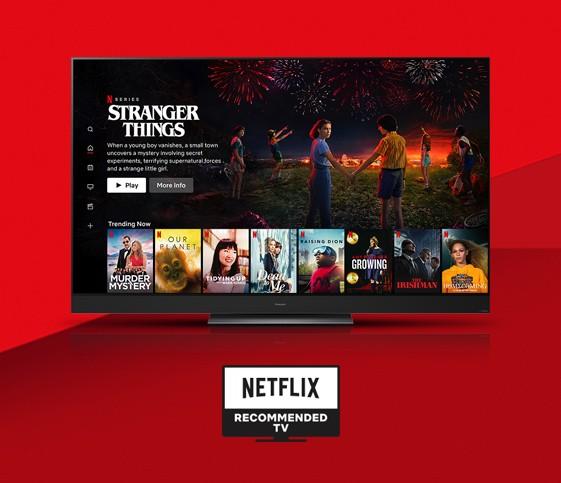 Televizor, ki ga priporoča Netflix