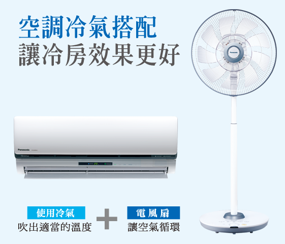 空調冷氣搭配 冷房效果再升級