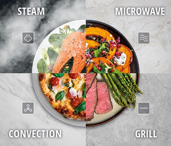 4-in-1 Combination Steam Oven