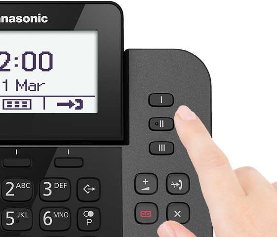 One-Touch Dialling Buttons